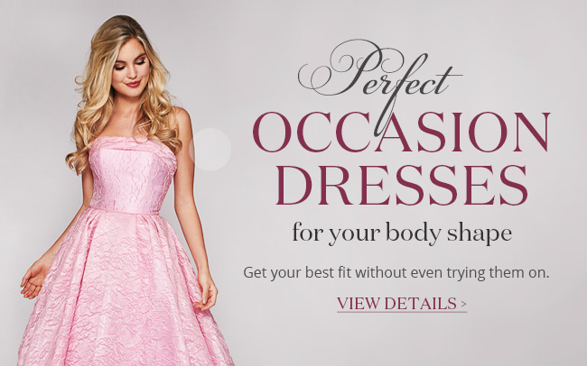 Perfect EOccasion Dresses For Your Body Shape